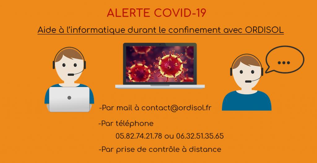 aide informatique confinement covid-19